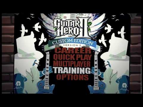 Guitar Hero II Custom Version 2 PS2 Songlist