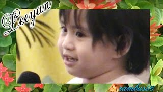 1-1/2 yr old BABY GIRL LEEYAN prepares for X FACTOR & VOICE KIDS auditions, 4TH IMPACT singer