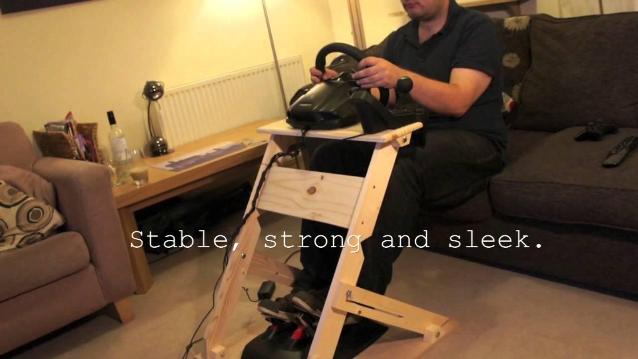 The WheelStand mkII  Custom DIY Steering Wheel Stand