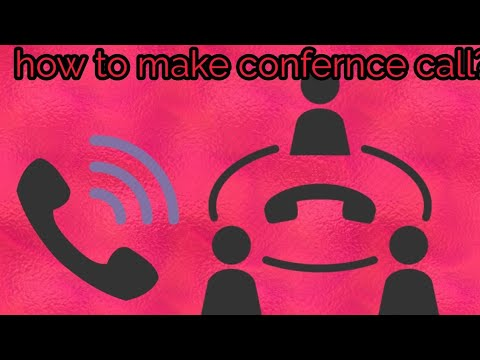how to conference call? apne phone me conference call kaise kare? by tecnical solution