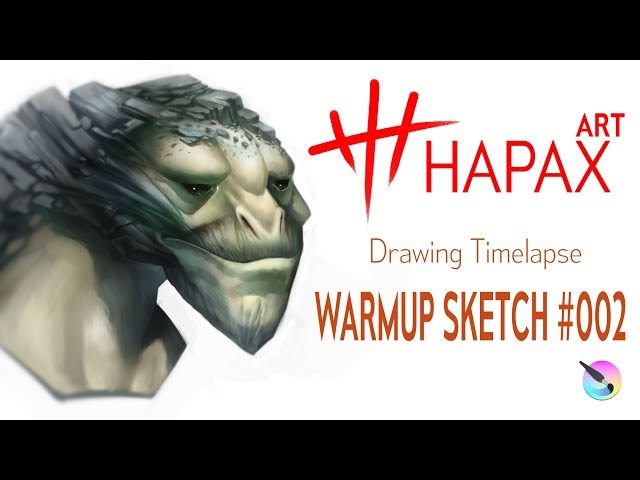 Let's Draw | Warmup Sketch #002