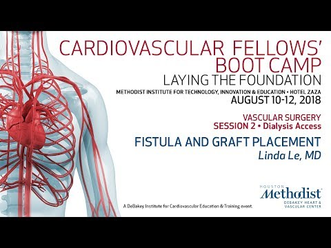 Fistula And Graft Placement (Linda Le, MD)