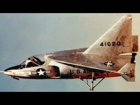Ryan X-13 Vertijet Experimental VTOL Air Force Aircraft - Vertical Take Off And Landing