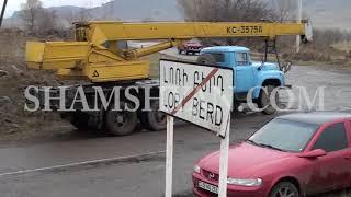 37 ամյա վարորդը Լոռի Բերդ գյուղի սկզբնամասում Mercedes–ով բախվել է էլեկտրասյանը  կա 5 վիրավոր