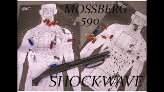Mossberg 590 Shockwave Review W/ Aguilla mini shells & Opsol adapter