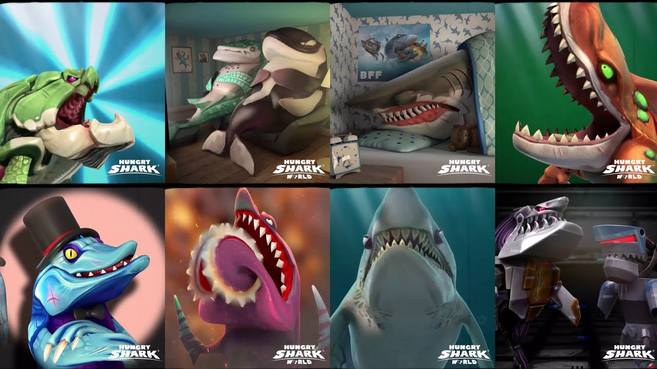 Download ATE DAYS LIVE EVENTS ALL MOVIES COMPILATION ! - Hungry Shark World 10th
