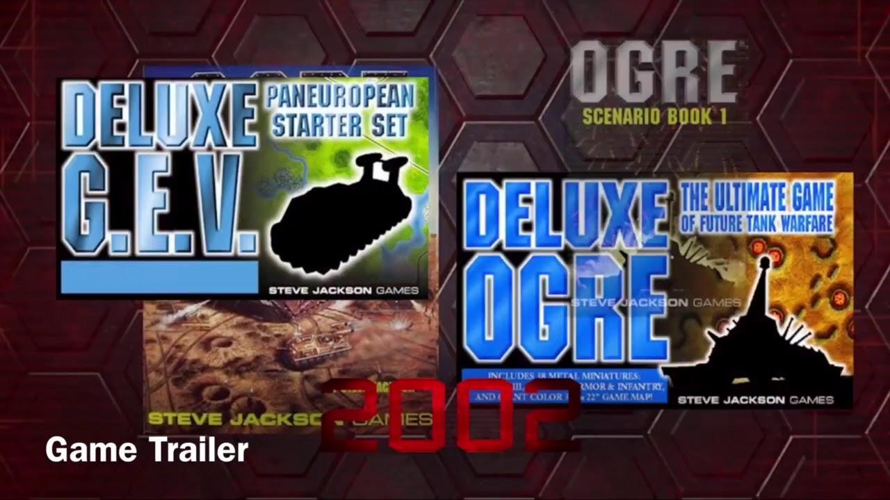 Ogre Steve Jackson Games New The Classic Game of Future Tank Warfare 6th Ed