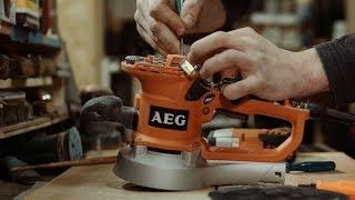 AEG EX 150 ES большой обзор. Эксцентриковая шлифмашина 150мм
