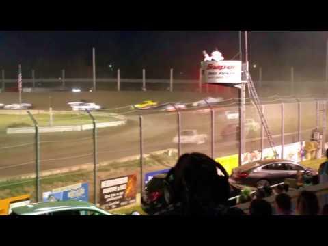 Jamestown Speedway Street Feature, 7/4/16