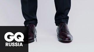 Энциклопедия GQ как правильно завязывать шнурки