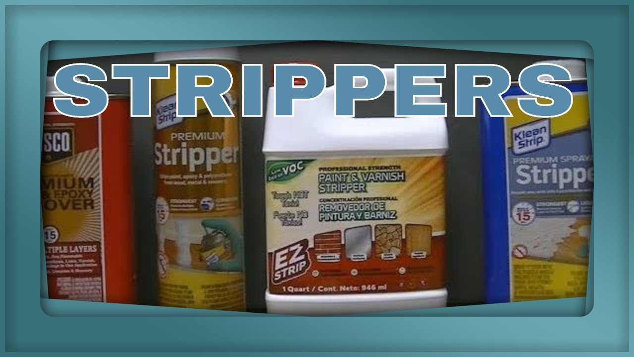 Review 4 Different Paint Strippers From Home Depot