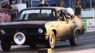 Street Outlaws Jeff Lutz grudge match with Moordoor Nova!! At American Outlaws Live
