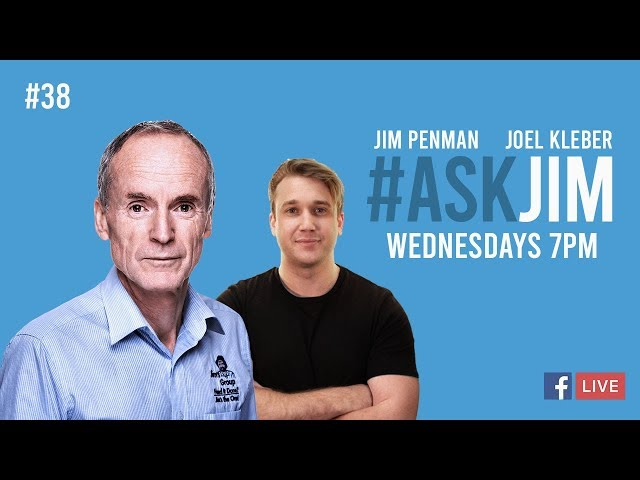#ASKJIM FB Live Q and A with Jim 38 with Jim Penman and Joel Kleber
