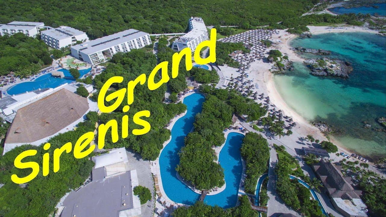Grand Sirenis Riviera Maya Resort Map Mayan Beach And Spa Tour