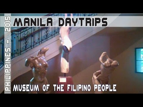 Manila Philippines National museum of the Filipino People