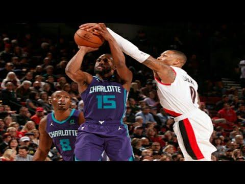 Portland Trail Blazers vs Charlotte Hornets Full Game Highlights 1/11/2019