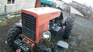 Колхозник сделал крутую внешку старому трактору МТЗ-82