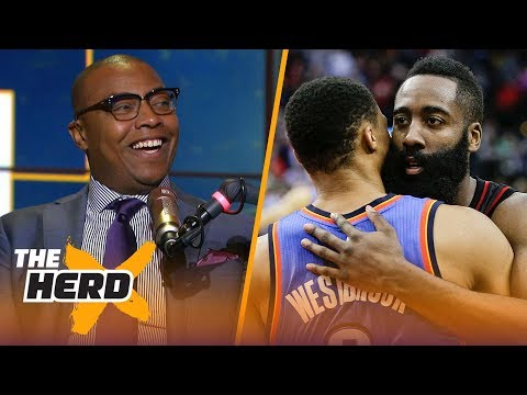 Caron Butler compares Harden to Westbrook, Unveils LeBron James' next team   NBA   THE HERD