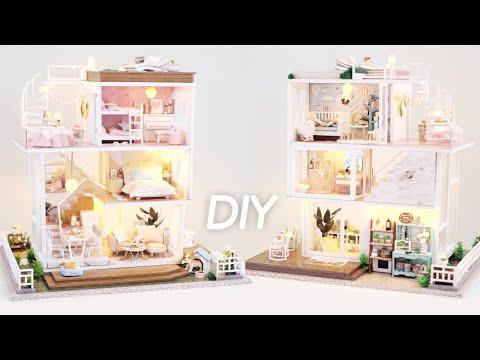 DIY Miniature Dollhouse Kit    Home Sweet Home - Miniature Land