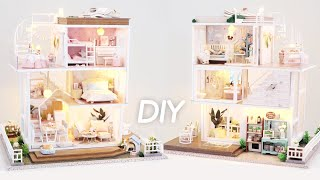 dIY Miniature Dollhouse Kit || Home Sweet Home - Miniature Land