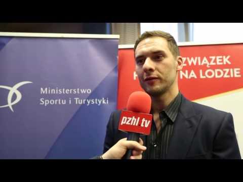 [www.pzhl.tv] Wojtek Wolski przed Campem Byrskiego
