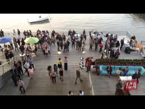 ICA First Fridays Time Lapse | Institute of Contemporary Art/Boston