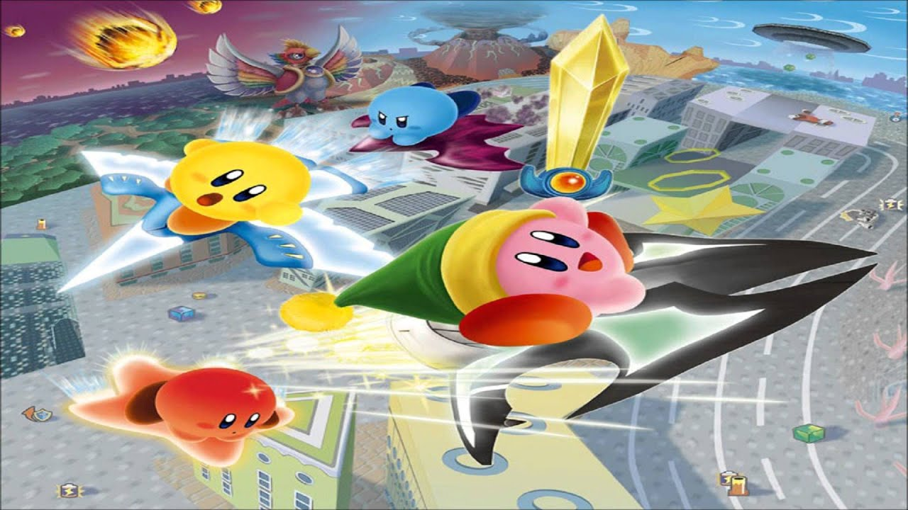kirby air ride city trial remix visit the city youtube