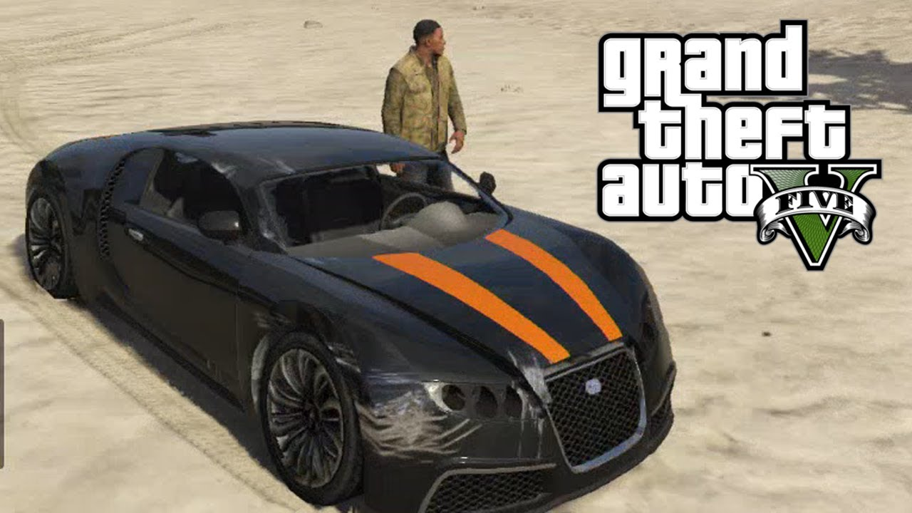 gta v bugatti veyron remake vehicle location countryside speeding grand theft auto v. Black Bedroom Furniture Sets. Home Design Ideas