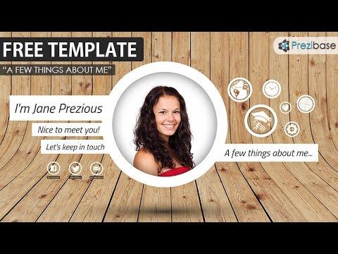 The Best Prezi CV Resume Template Free YouTube