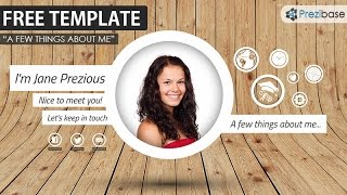 The Best Prezi CV/Resume Template (Free)
