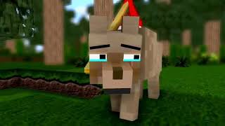 СОБАКА ИЗГОЙ в майнкрафте ( Анимация Майнкрафт ) Грустная смерть
