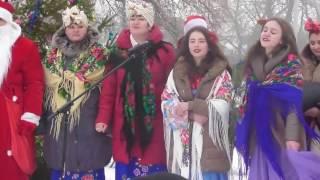Селище Капітанівка Новий рік