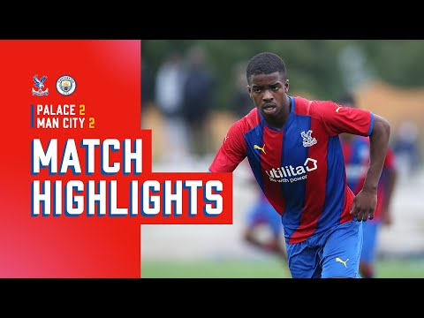 U18 PL Cup Highlights   Crystal Palace 2-2 Manchester City