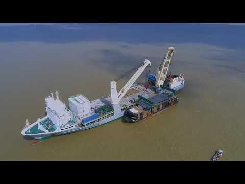 SAL: MV Svenja, discharging river cruise vessel in Brazil