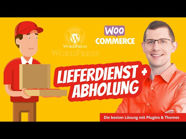 WordPress WooCommerce Lieferdienst / Lieferservice 🍕 Pizza Restaurant Döner Sushi uvm.