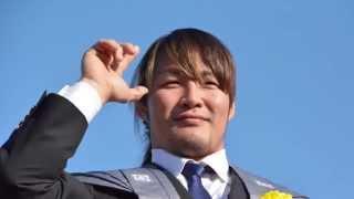 2015.2.3 東京・池上本門寺にて行われた節分追儺式の様子です.