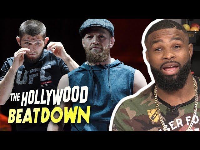 Tyron Woodley Reacts to McGregors $50 Million Paycheck Vs Khabib | The Hollywood Beatdown