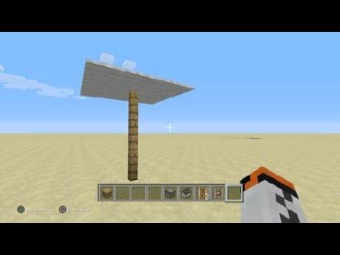 Come Fare Un Ombrellone.Come Fare Uno Tsunami No Mod E Un Ombrellone Su Minecraft Youtube