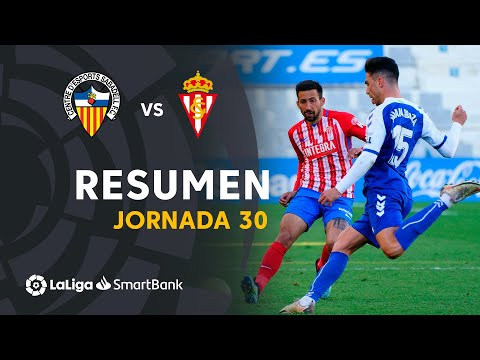 Sabadell CE Gijon Goals And Highlights