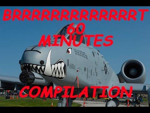 60 Minutes BrrrrrrrrrrrrrrrrrrrrrT action - A-10 Warthog / Thunderbolt compilation