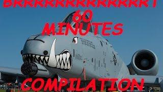 60 minutes brrrrrrrrrrrrrrrrrrrrrt action a 10 warthog thunderbolt compilation