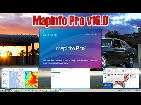 How to install MapInfo Pro v16.0 [crack]