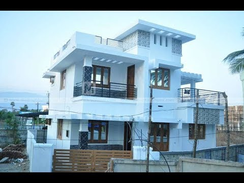Cute Modern Double Floor House 1500 Sft In 3 Cent For 15