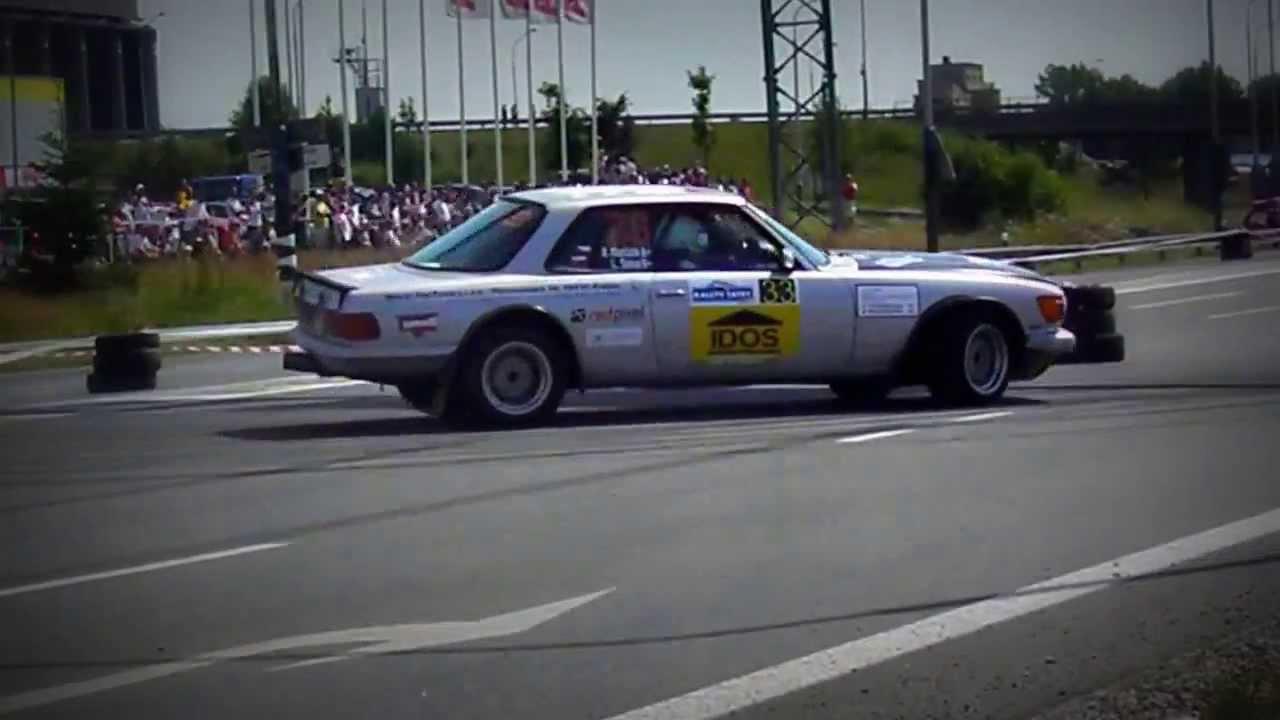 MERCEDES - BENZ 500 SLC Rally - YouTube