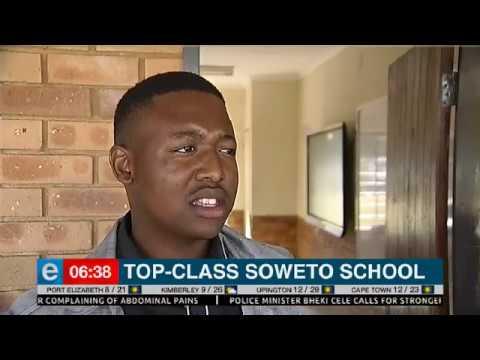 Top-class soweto school