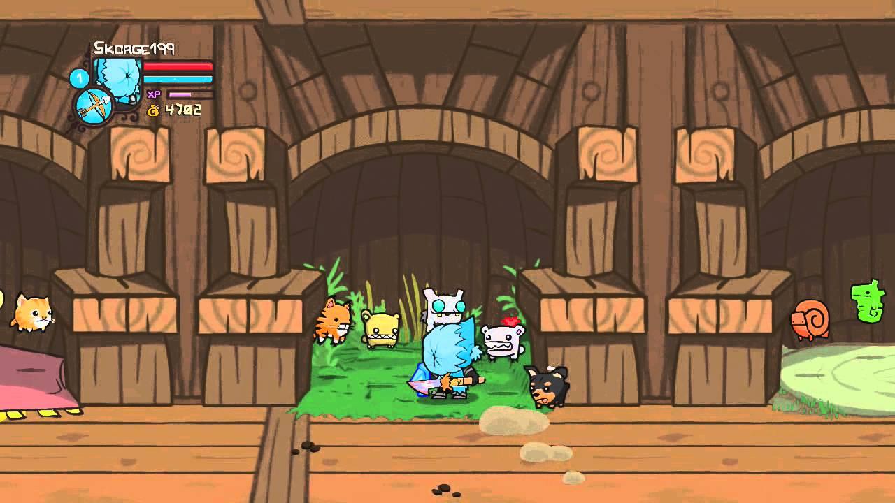 castle crashers playthrough icekimo youtube