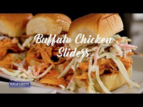 Baja Chicken Slaw Sliders