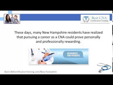 Top CNA Classes In New Hampshire   NH CNA Colleges