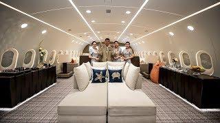 Самые дорогие самолеты МИЛЛИОНЕРОВ изнутри