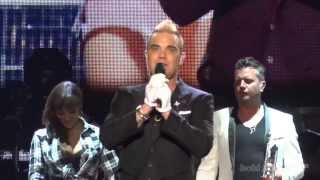 Robbie Williams - Road To Mandalay (Live in Belgrade - Ušće, 17.06.2015) FIRST ROW